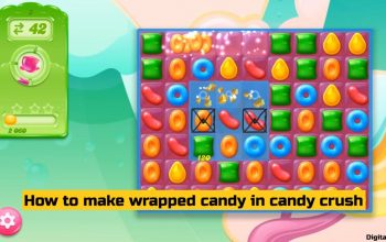 How to make wrapped candy in candy crush