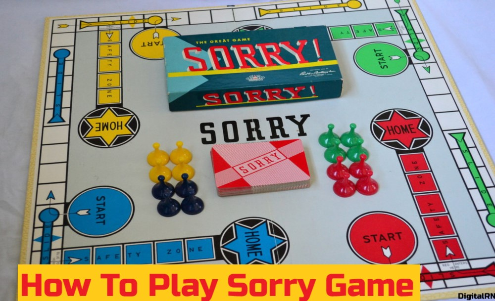 How To Play Sorry Game