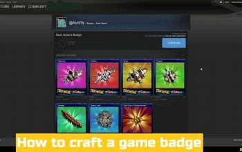 How to Craft a Game Badge