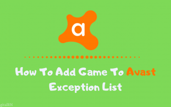 How To Add Game To Avast Exception List