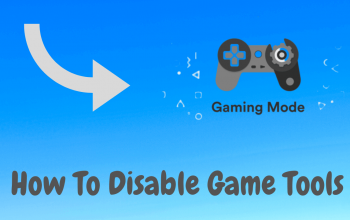 How To Disable Game Tools