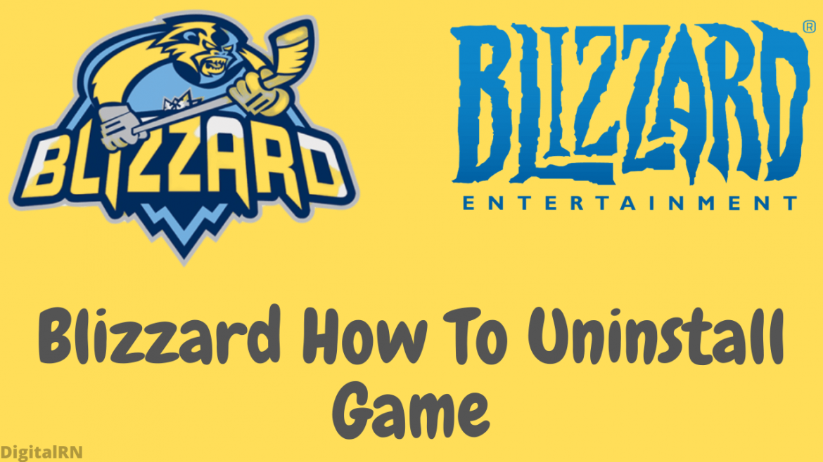 Blizzard How To Uninstall Game