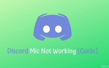 Fix Discord Mic Not Working [Guide]